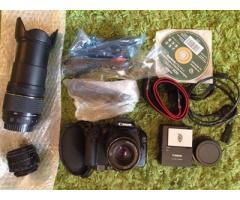 Canon 550d + 3 объектива, полный комплект
