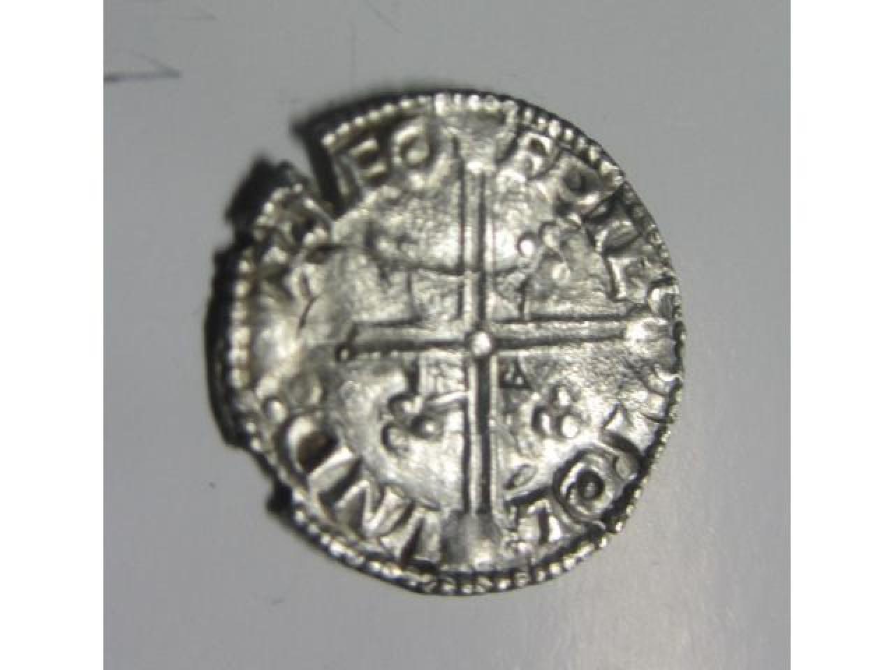 Продам серебряный денарий Этельреда-2 (978-1016 год) Англия. - 2