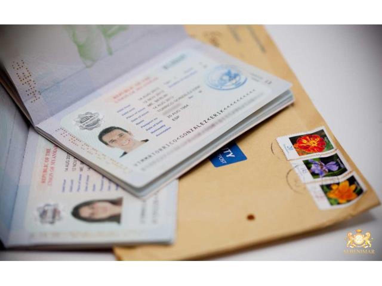 Визы в Шенген, Англию, США для граждан РФ и СНГ. - 1