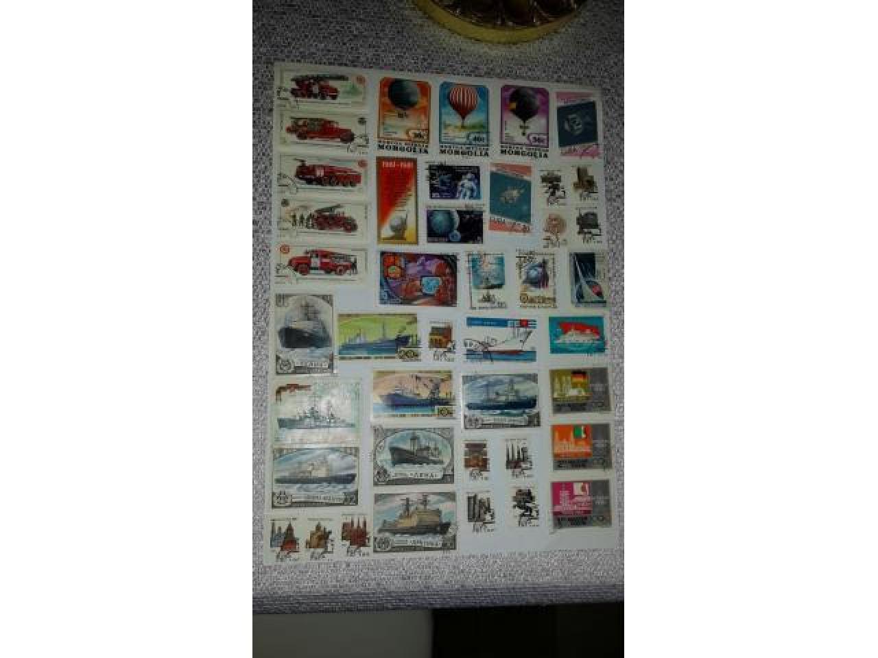 коллекция почтовых марок - 2