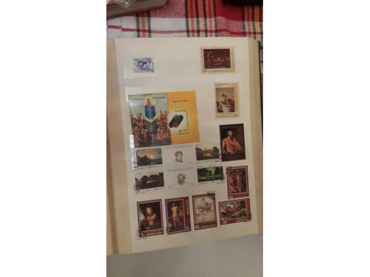 коллекция почтовых марок - 12