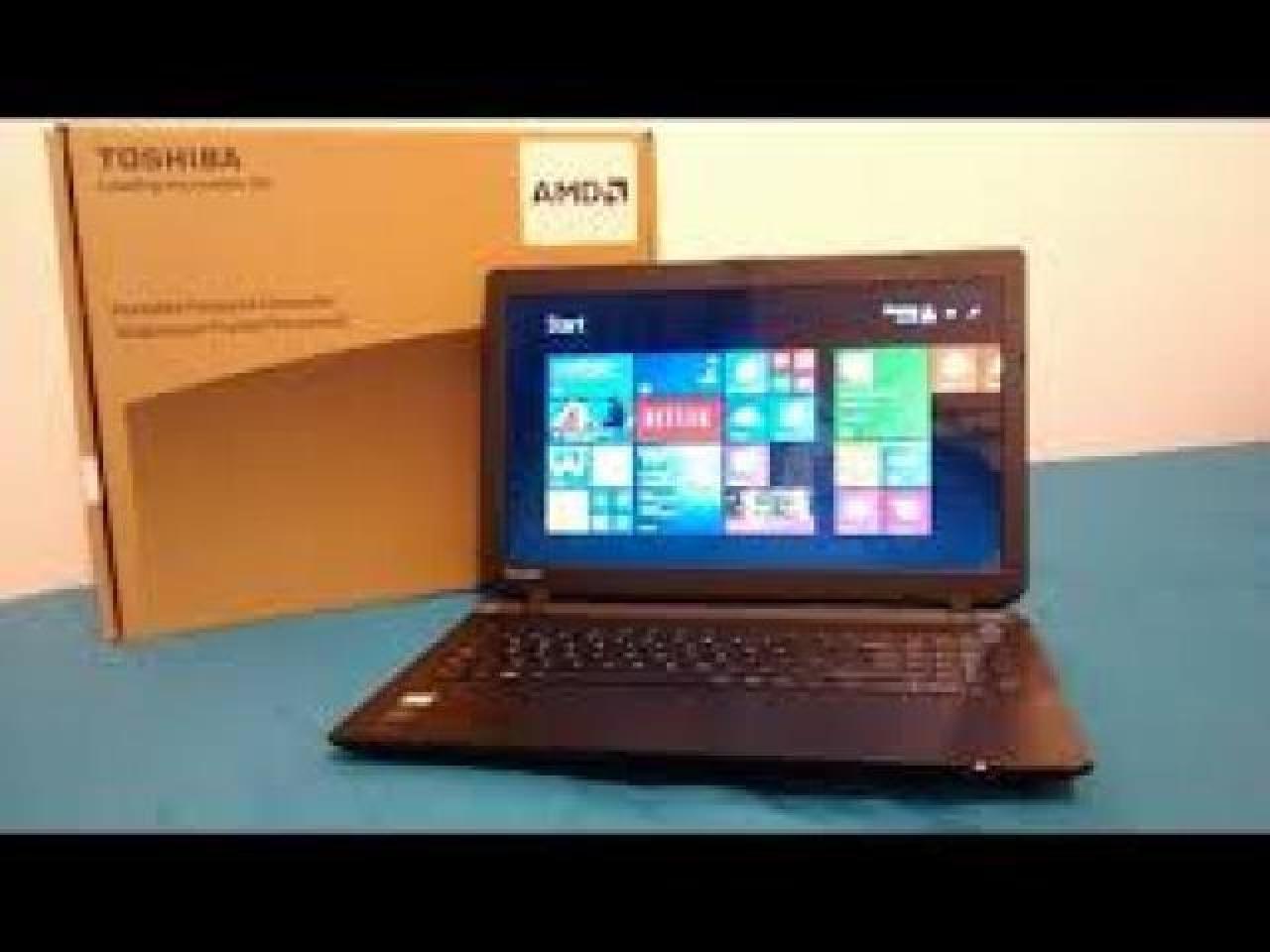 Laptop Toshiba C50D-B-120 как новый - 1