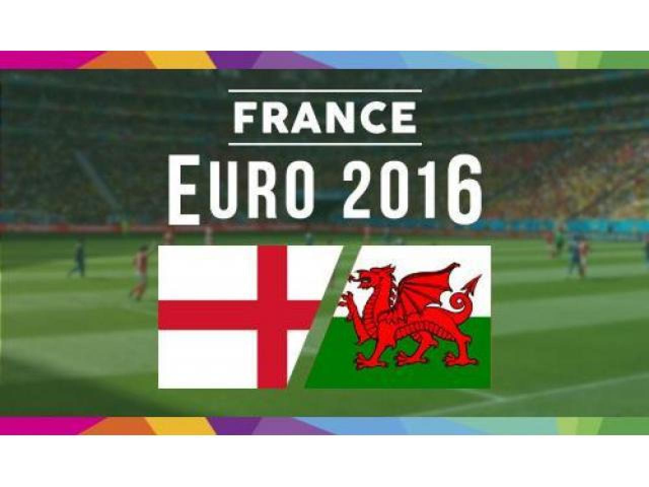 Англия - Уэльс - Евро 2016 - 1