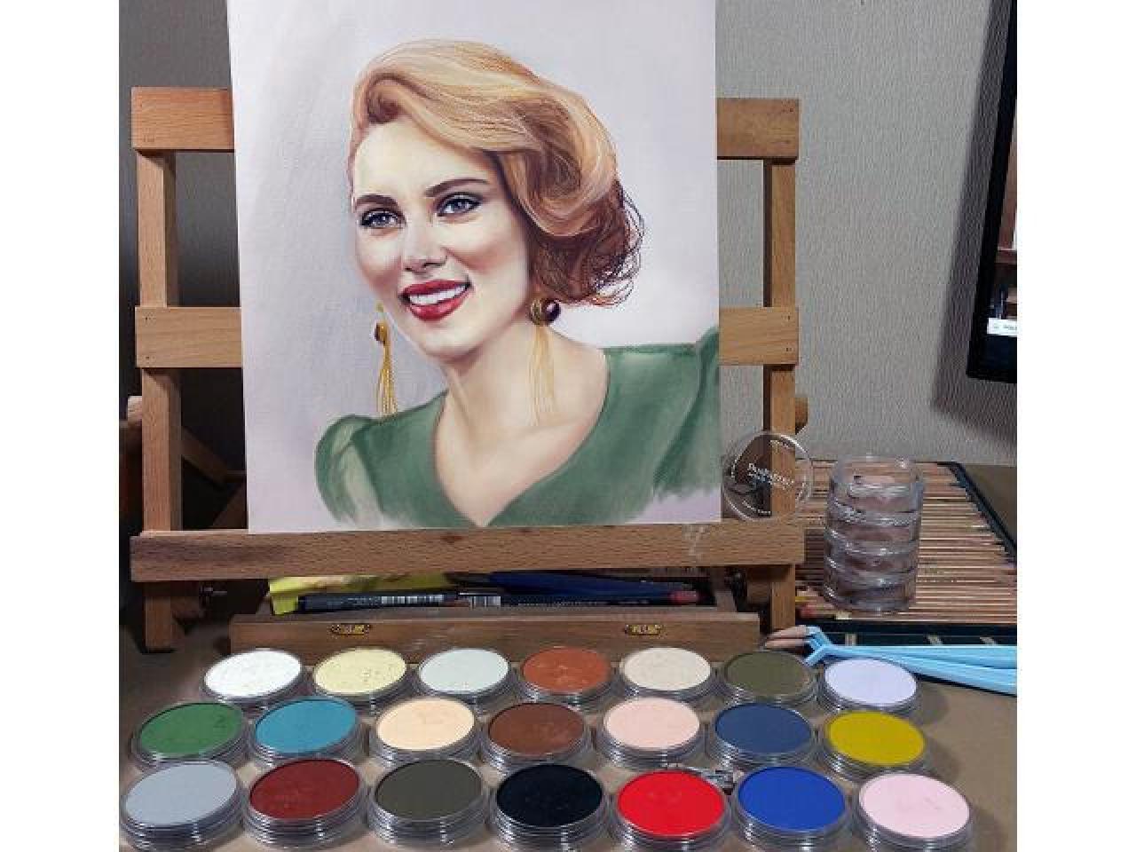 Портрет на заказ маслом, пастелью, карандашом и в других техниках. Картины любой сложности. - 5