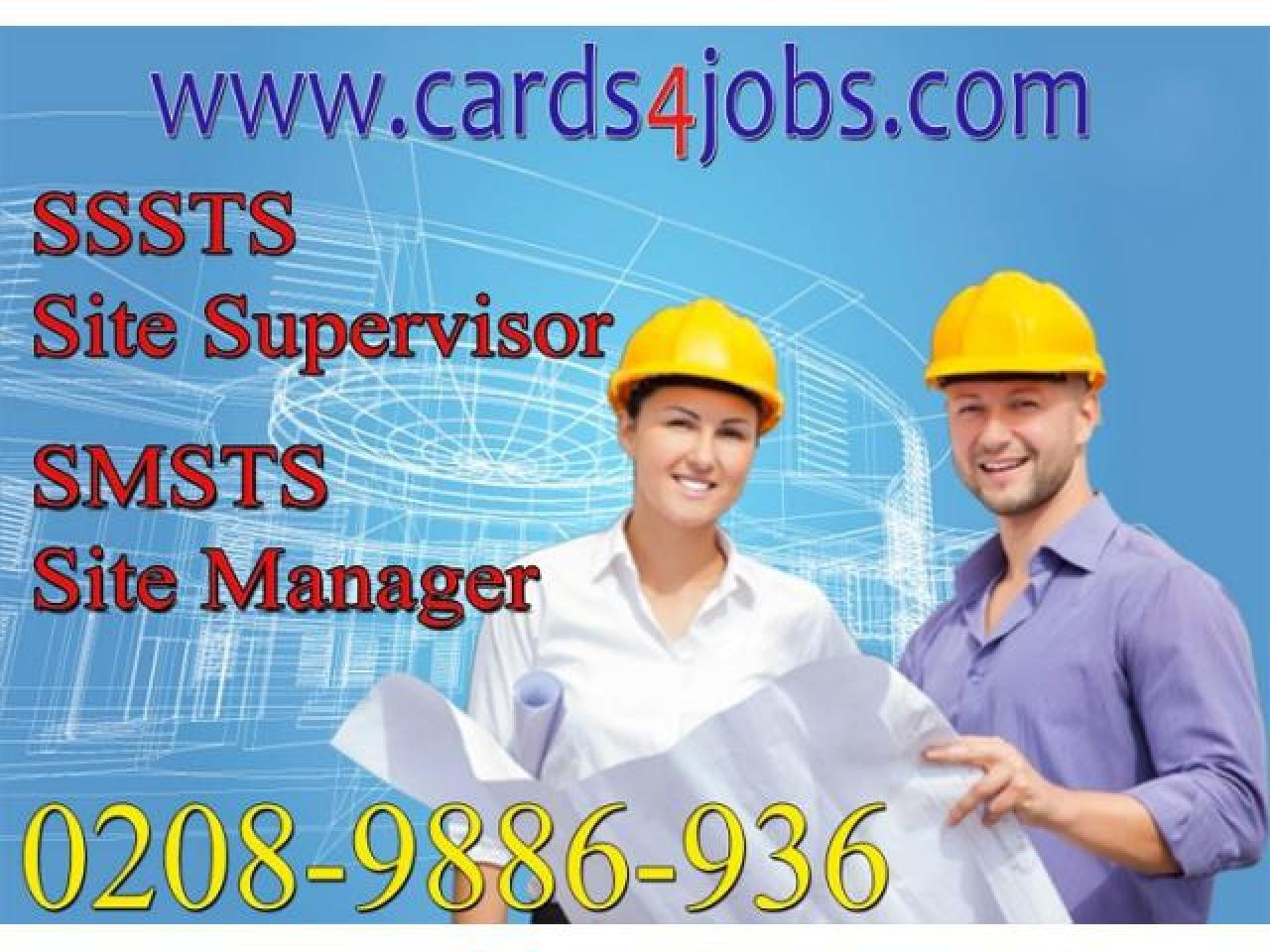 Курс SSSTS - Site Supervisor/SMSTS- Site Manager - 1