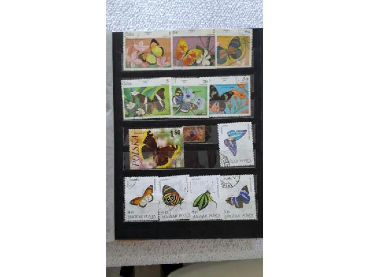 коллекция почтовых марок - 3