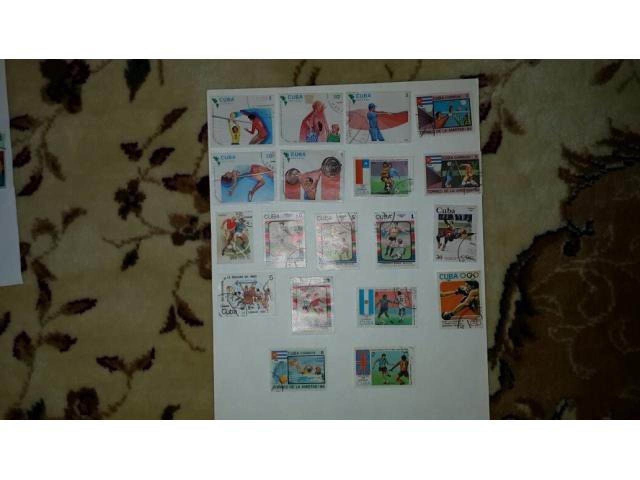 коллекция почтовых марок - 9