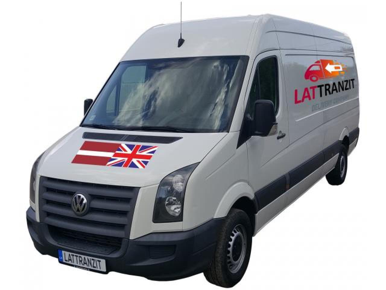 Доставка посылок и грузов Латвия - Англия - Латвия - 2