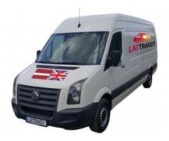 Доставка посылок и грузов Латвия - Англия - Латвия
