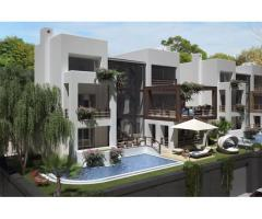 Продаётся шикарная трехэтажная вилла - новострой в районе Бодрума Ялыкавак в Турции.