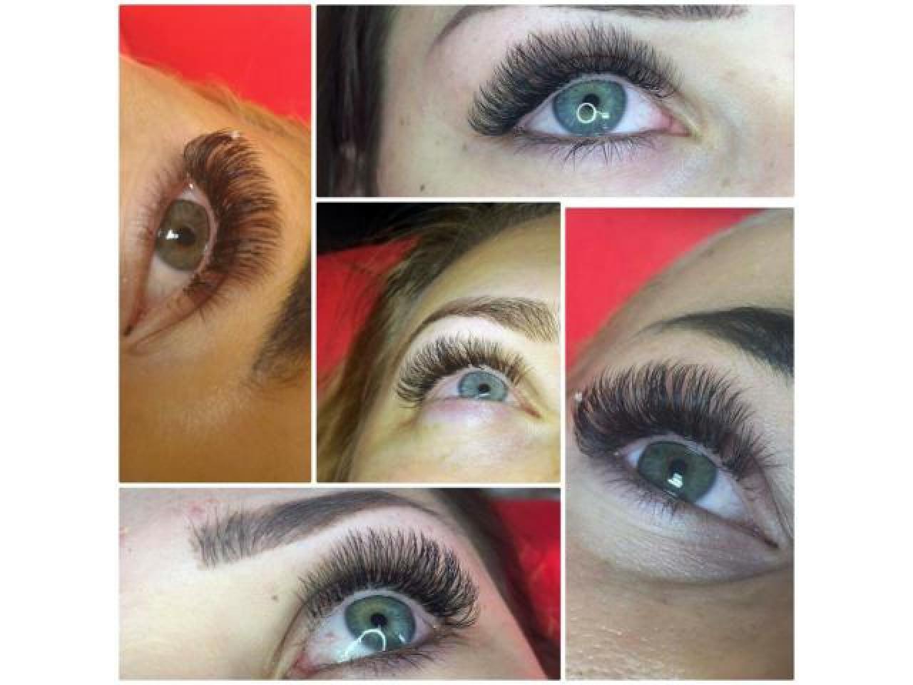 макияж, прически, наращивание ресниц. Makeup, Hairstyle, Eyelash extensions - 3