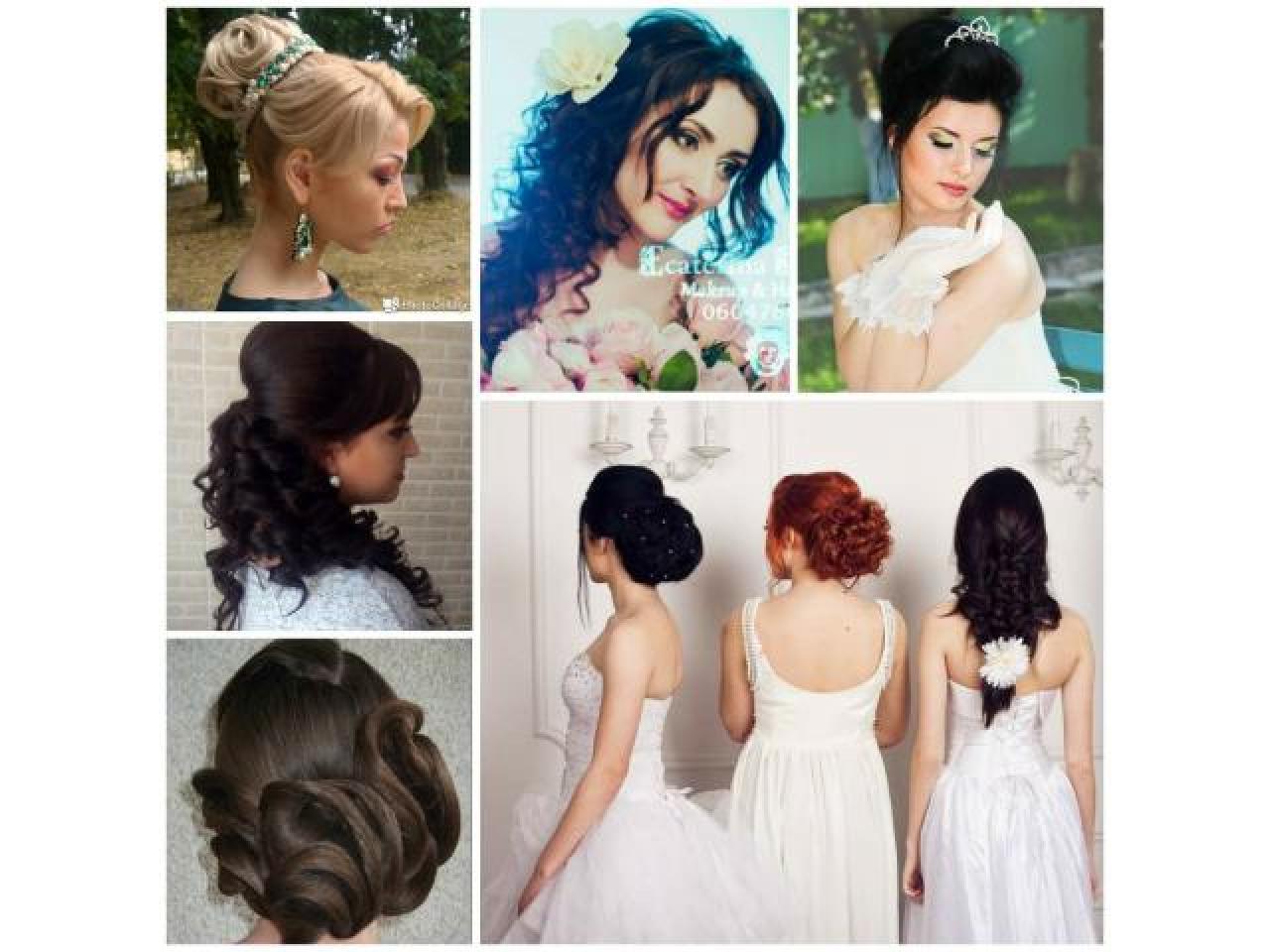 макияж, прически, наращивание ресниц. Makeup, Hairstyle, Eyelash extensions - 6