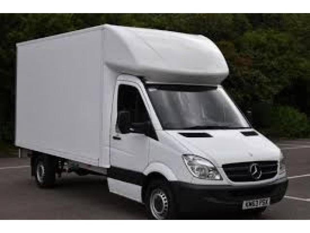 Перевозки и переезды, Mercedes Sprinter Luton Van, London, UK, EU. - 1