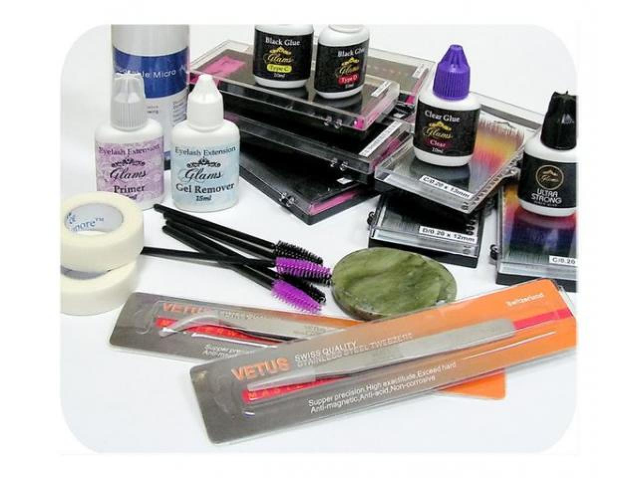 Материалы для наращивания ресниц - 1