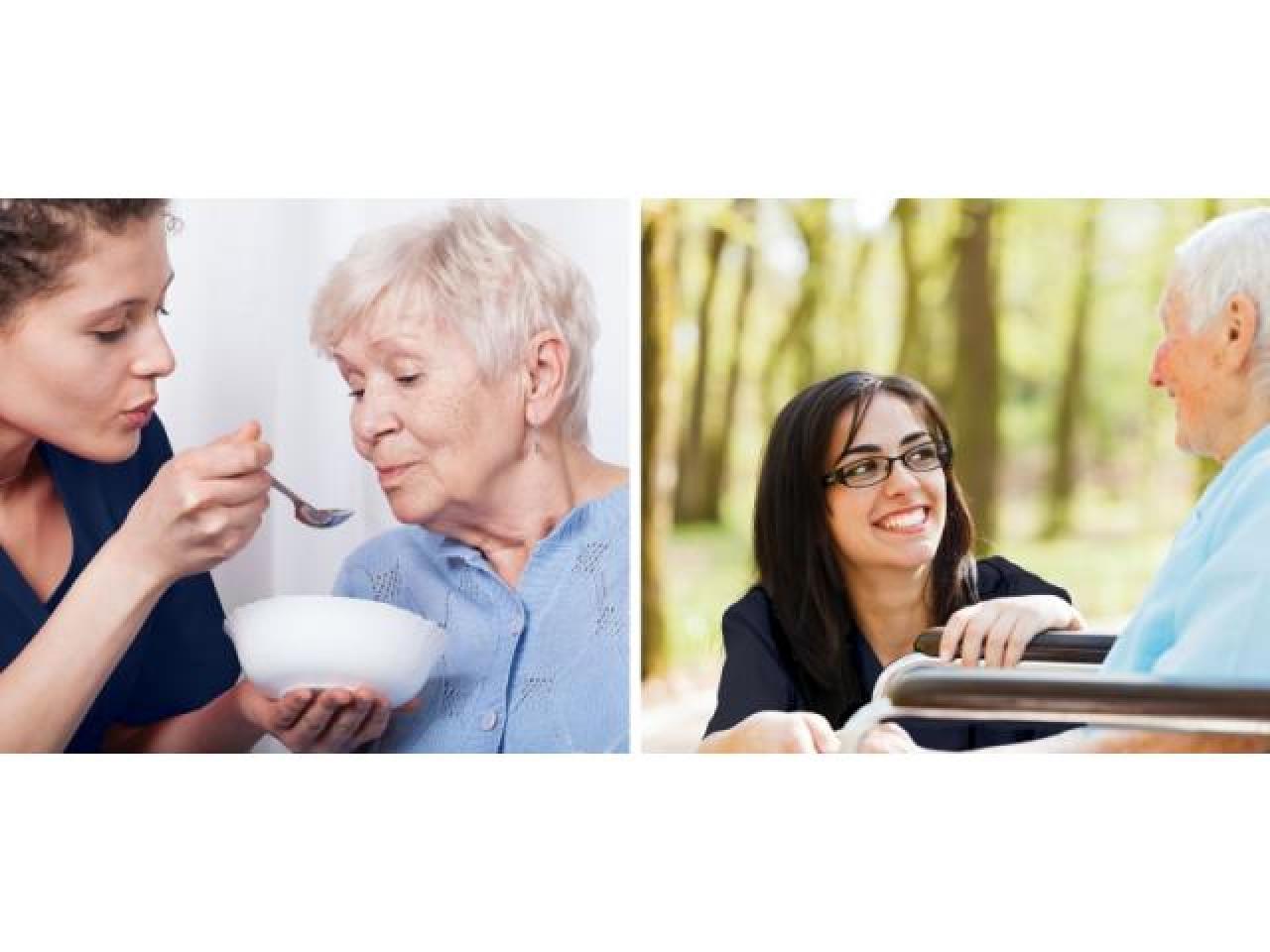 Работа в Англии «забота и поддержка пенсионеров» - 1