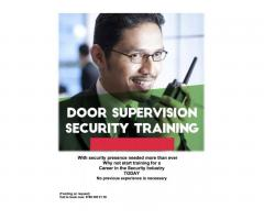 Security officer course and job opportunities