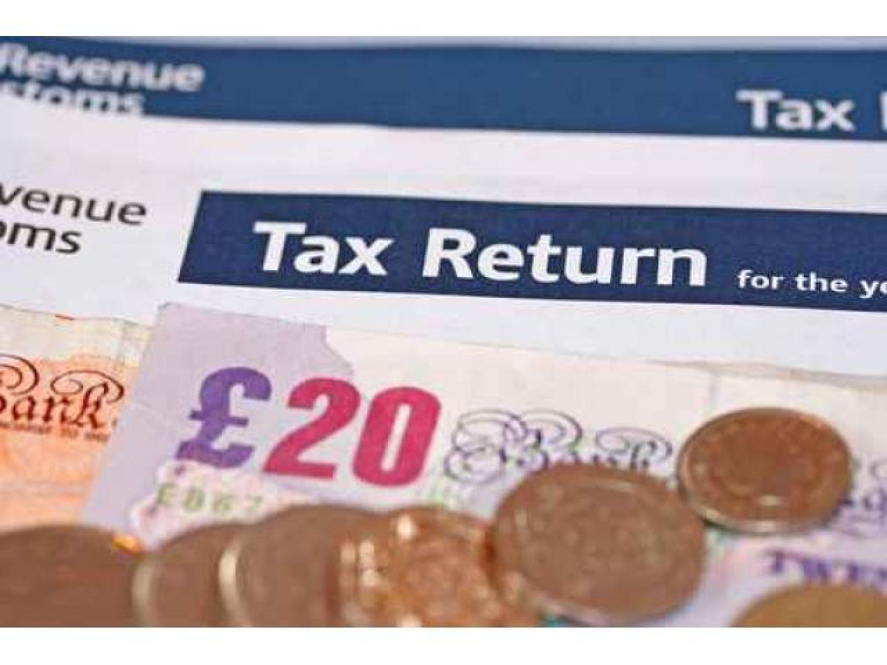 Возврат подоходных налогов. Tax return. - 1