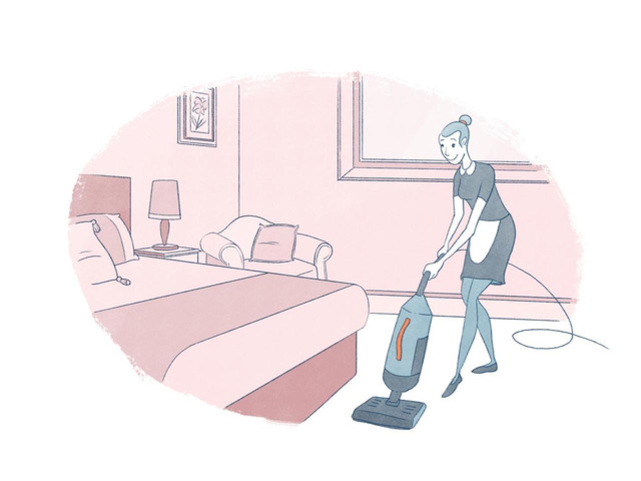 Требуются работники для уборки комнат в гостинице - 1