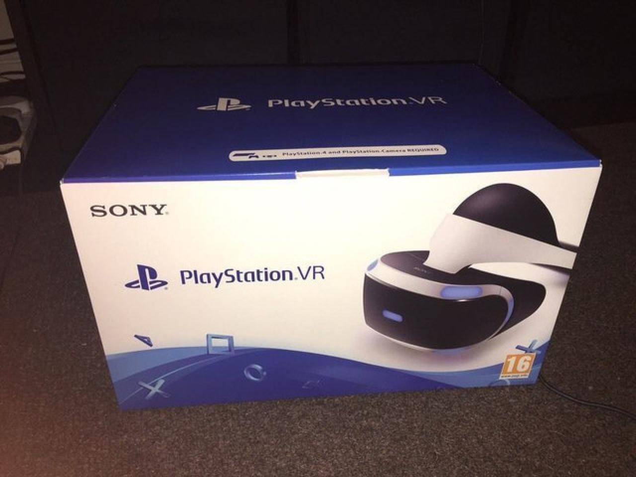 PS4 Pro Playstation 4 Pro 1TB + Playstation VR Headset - New and Sealed - 2