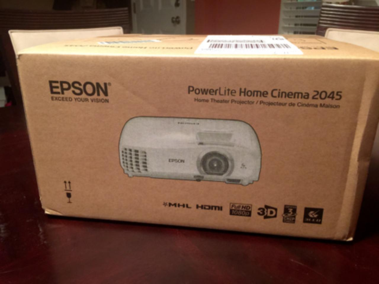 Epson Home Cinema 2045 1080p 3D Miracast 3LCD Home Theater Projector. - 1