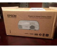 Epson Home Cinema 2045 1080p 3D Miracast 3LCD Home Theater Projector.