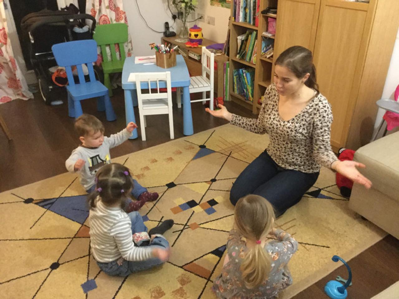новый лингвистический домашний мини детский сад в Milton Keynes - 6