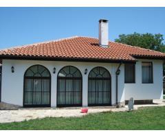House on the black sea coast in Bulgaria