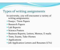 Помощь в сдаче  экзаменов в унивеситете или колледже