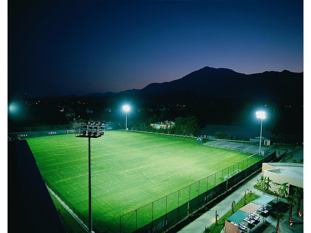 Футбольное поля, стадион с натуральным и искусственным газоном в любой точке России. Строительство С - 1