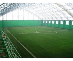 Футбольное поля, стадион с натуральным и искусственным газоном в любой точке России. Строительство С