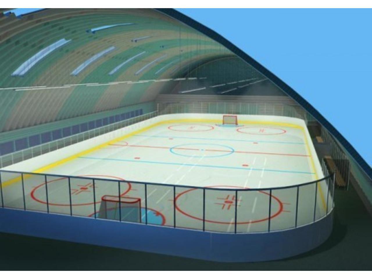 Хоккейная коробка, изготовление и монтаж. По доступной цене и в минимальный срок. - 8