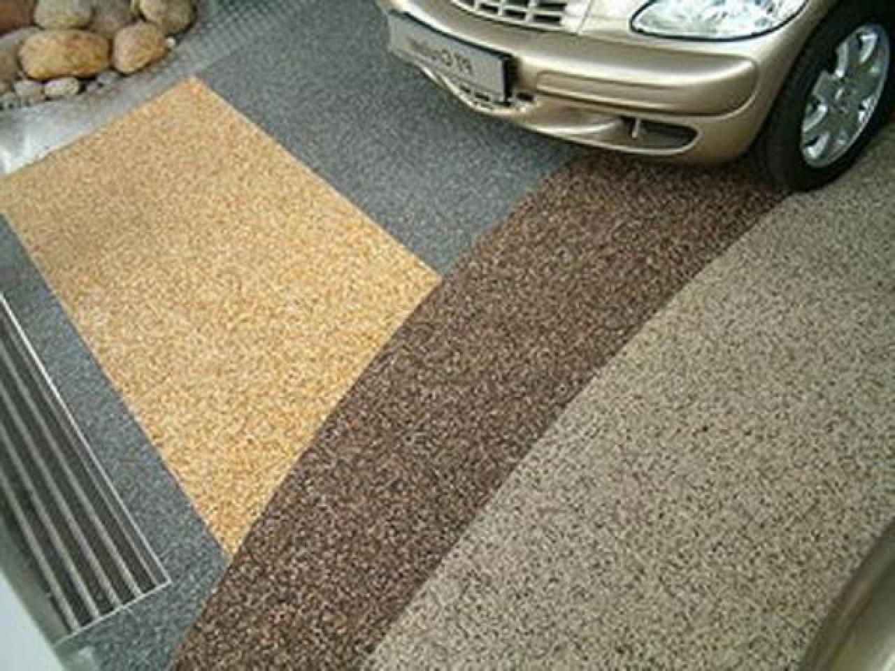 Напольное покрытие каменный пол с использованием кварцевого песка. - 4