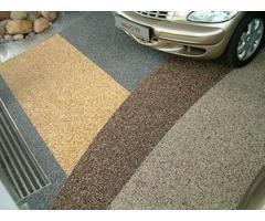 Напольное покрытие каменный пол с использованием кварцевого песка. - Image 4