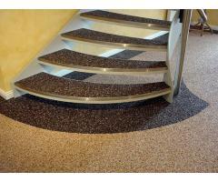 Напольное покрытие каменный пол с использованием кварцевого песка. - Image 5