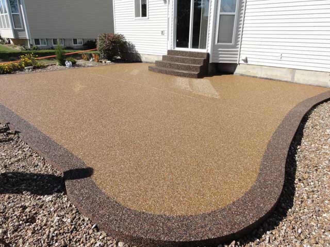 Напольное покрытие каменный пол с использованием кварцевого песка. - 7