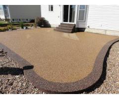Напольное покрытие каменный пол с использованием кварцевого песка. - Image 7