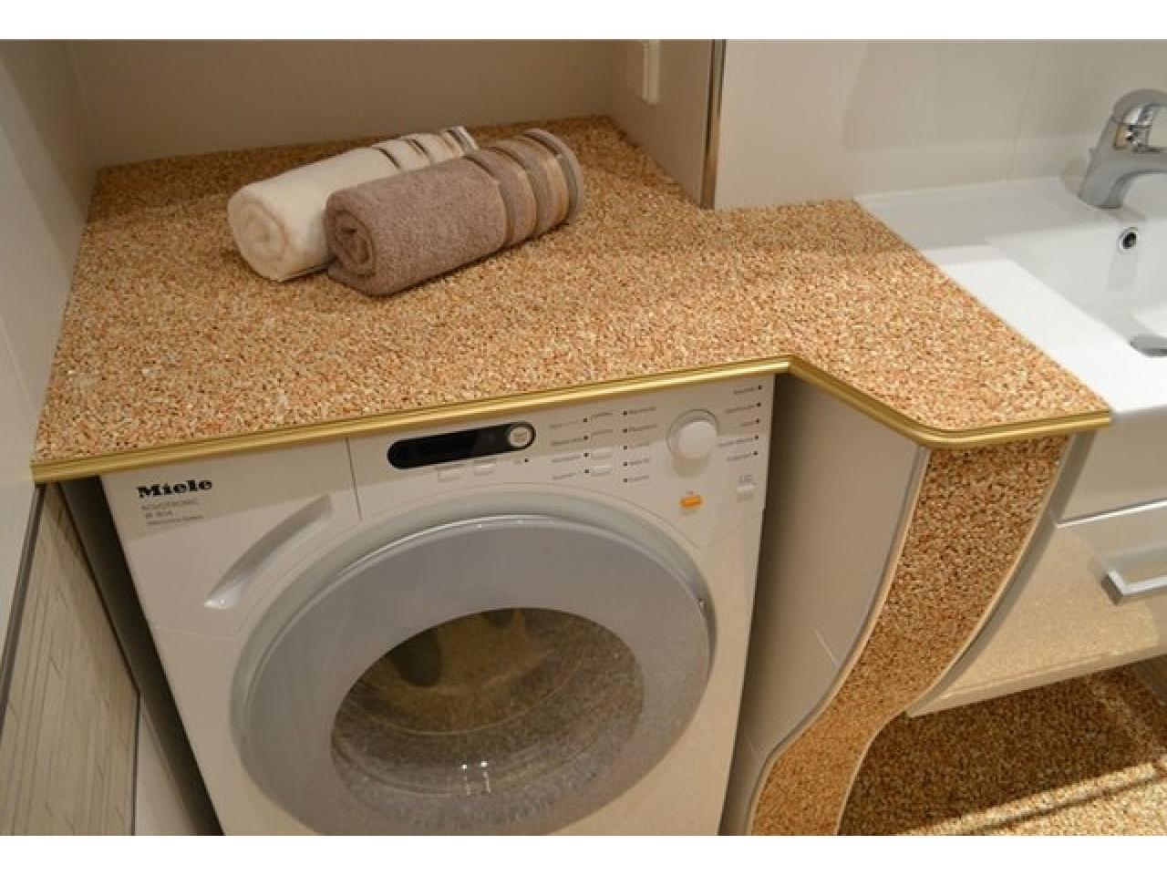 Напольное покрытие каменный пол с использованием кварцевого песка. - 11