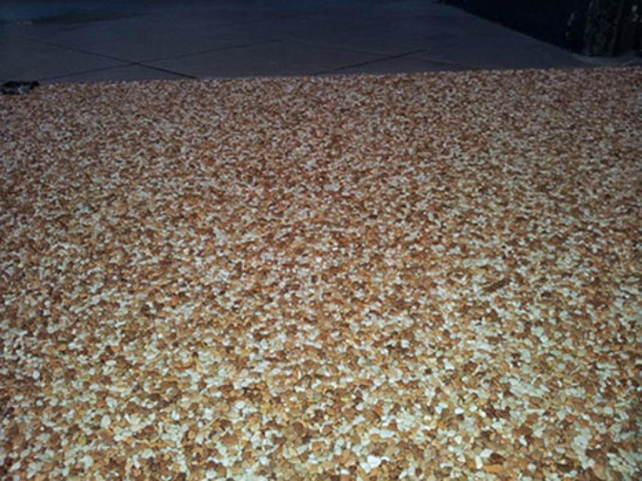 Напольное покрытие каменный пол с использованием кварцевого песка. - 12