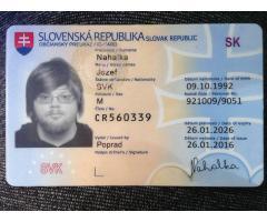 Занимаемся изготовлением ID карт и водительских удостоверений