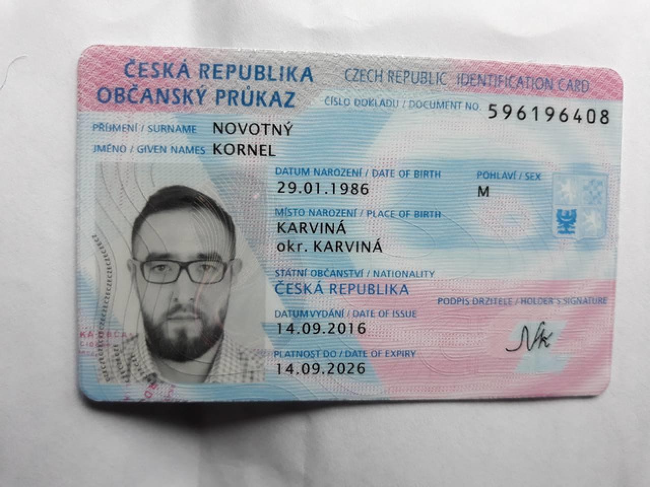 Изготовление европейских ID card - 1
