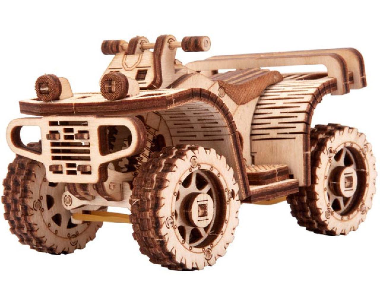 Механические 3D пазлы Wood Trick - 1