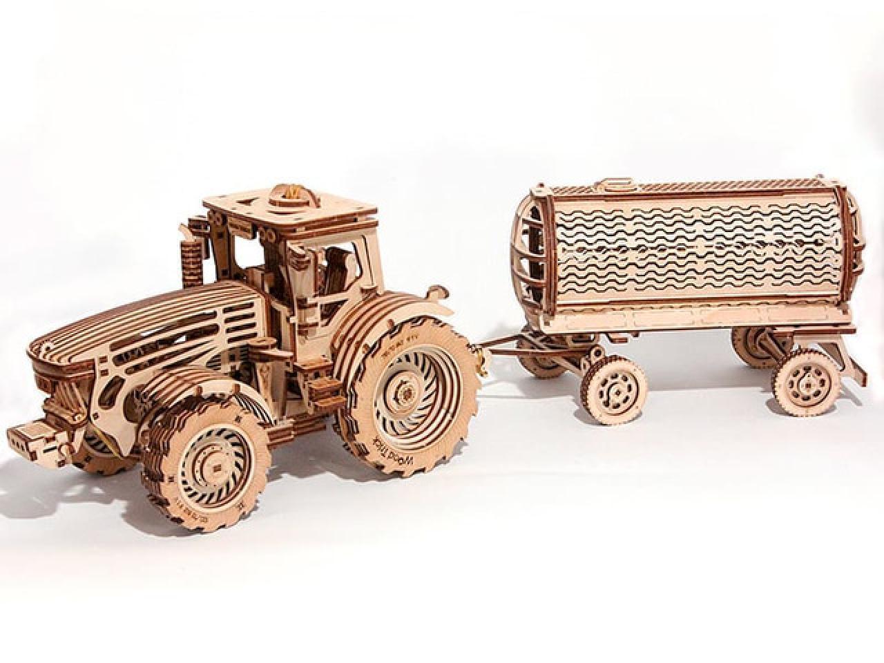 Механические 3D пазлы Wood Trick - 2