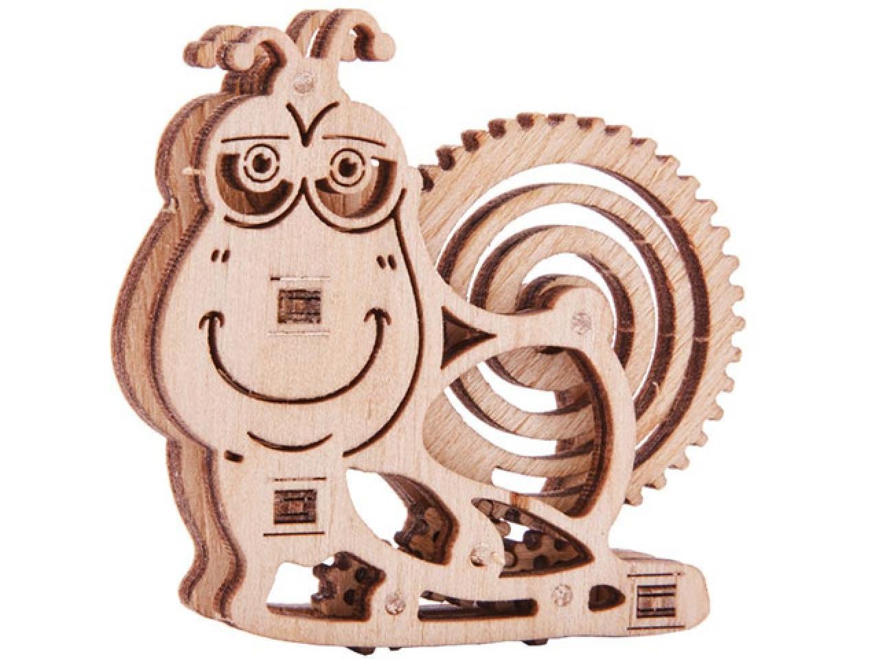 Механические 3D пазлы Wood Trick - 8