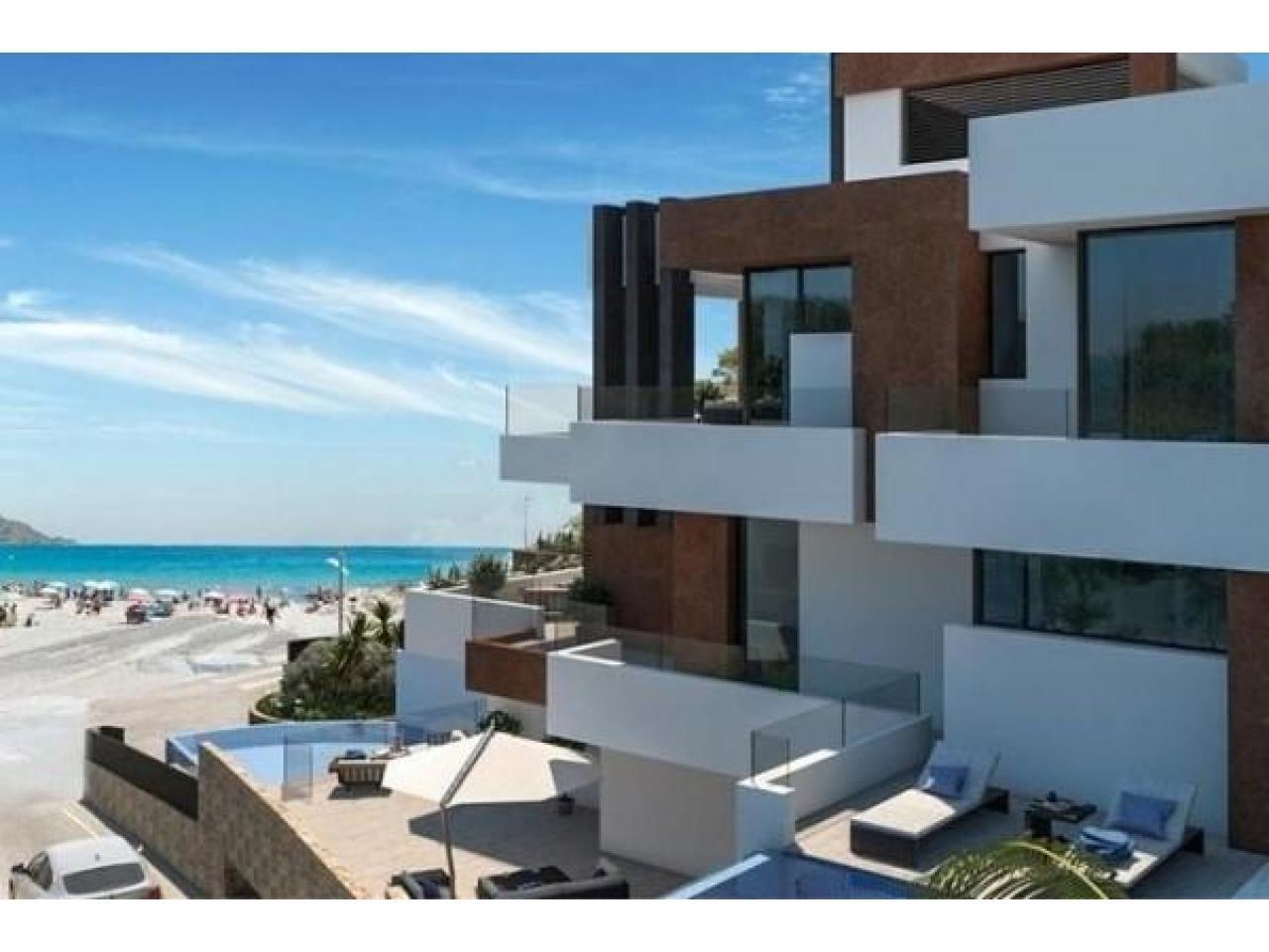 Недвижимость в Испании, Новые квартиры с видами на море от застройщика в Бенидорм - 1
