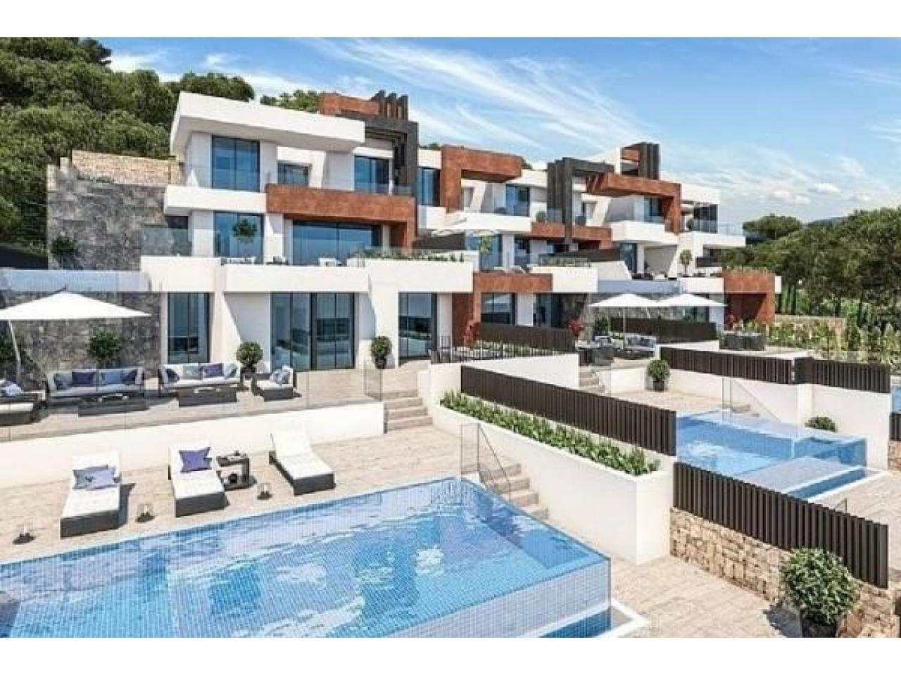 Недвижимость в Испании, Новые квартиры с видами на море от застройщика в Бенидорм - 2