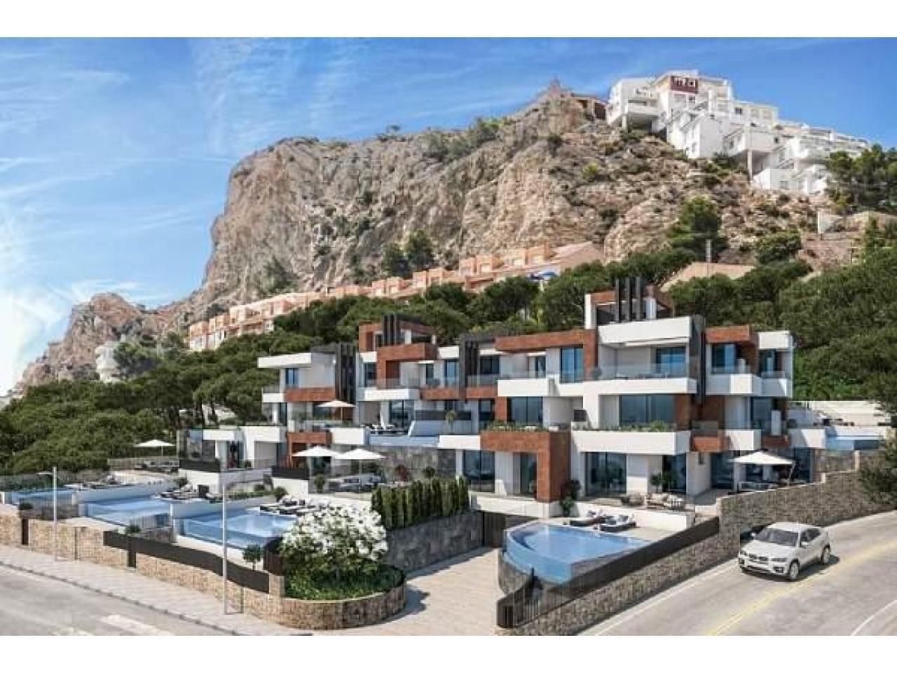 Недвижимость в Испании, Новые квартиры с видами на море от застройщика в Бенидорм - 4