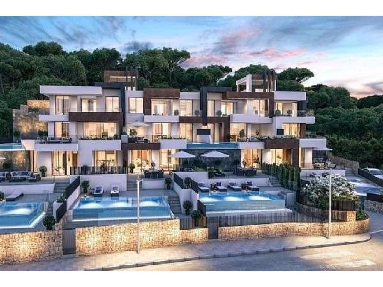Недвижимость в Испании, Новые квартиры с видами на море от застройщика в Бенидорм - 7