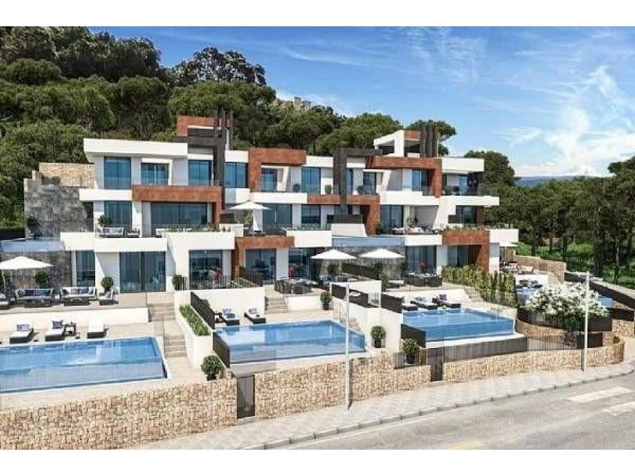 Недвижимость в Испании, Новые квартиры с видами на море от застройщика в Бенидорм - 8