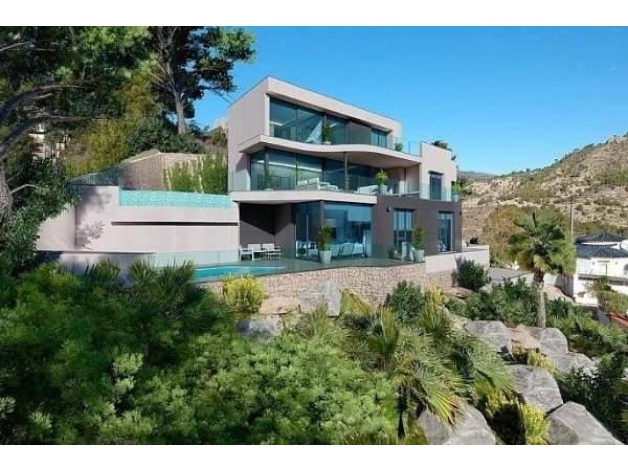 Недвижимость в Испании, Новая вилла с видами на море от застройщика в Кальпе - 3