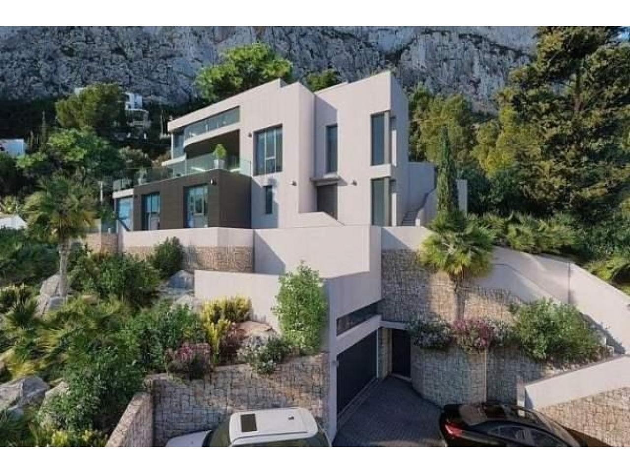 Недвижимость в Испании, Новая вилла с видами на море от застройщика в Кальпе - 5